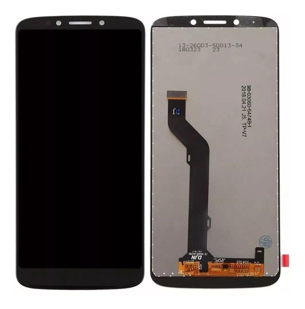 Frontal Display Tela Motorola Xt1924  Moto E5 Plus / MotoE5 Plus  Preto Sem aro