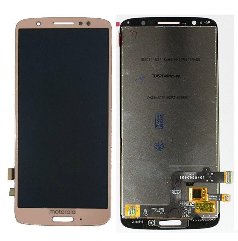 Frontal Display Tela Touch Motorola Moto G6 / MotoG6 Xt1925 Dourado