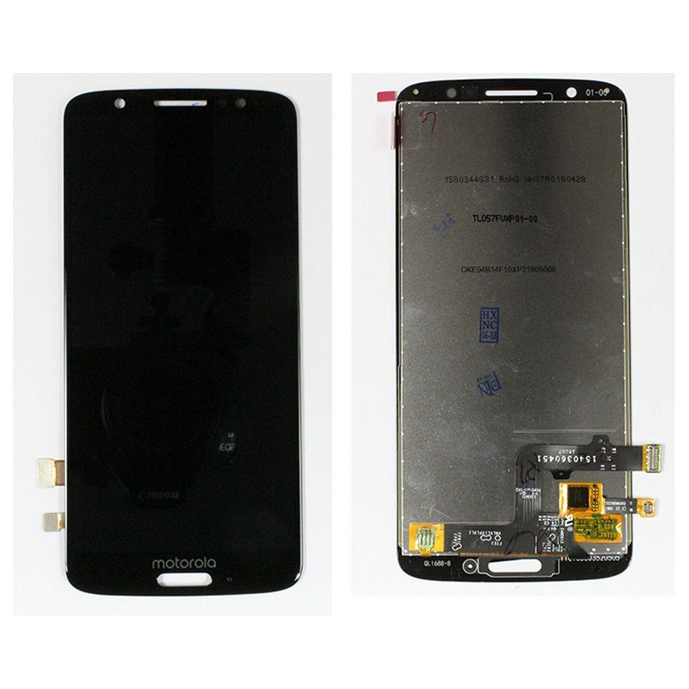 Frontal Display Tela Touch Motorola Moto G6 / MotoG6 Xt1925  Preto