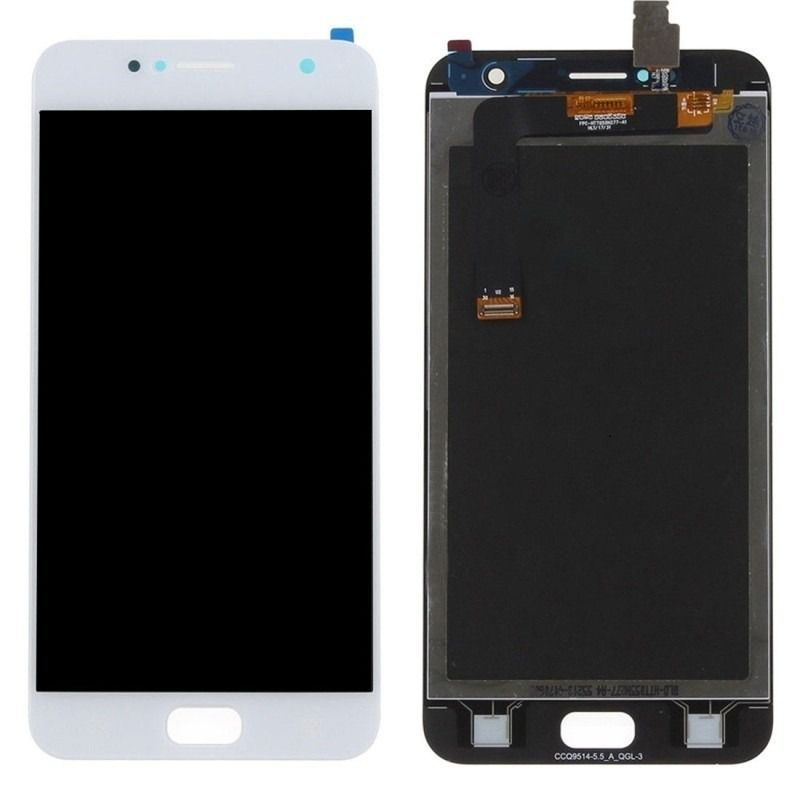 Frontal Display Touch Asus Zenfone 4 Selfie Zd553kl 5.5 Pol. Branco