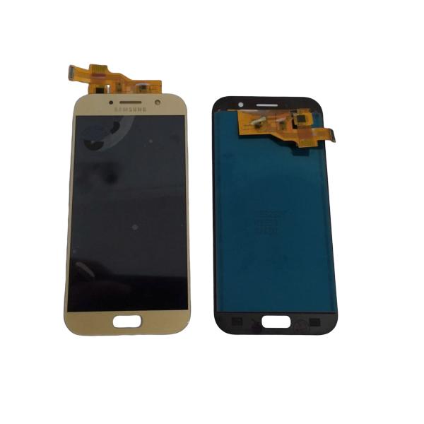 Frontal Lcd Galaxy A5 2017 A520 C/ Regulagem Brilho Dourado