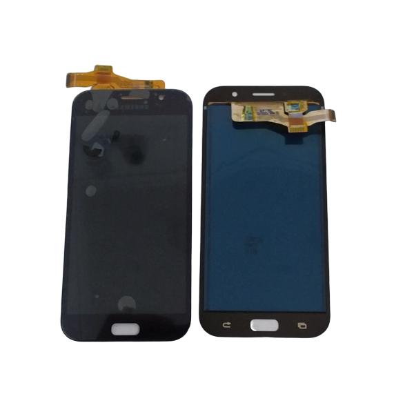 Frontal Lcd Galaxy A7 2017 A720 C/ Regulagem Brilho Preto