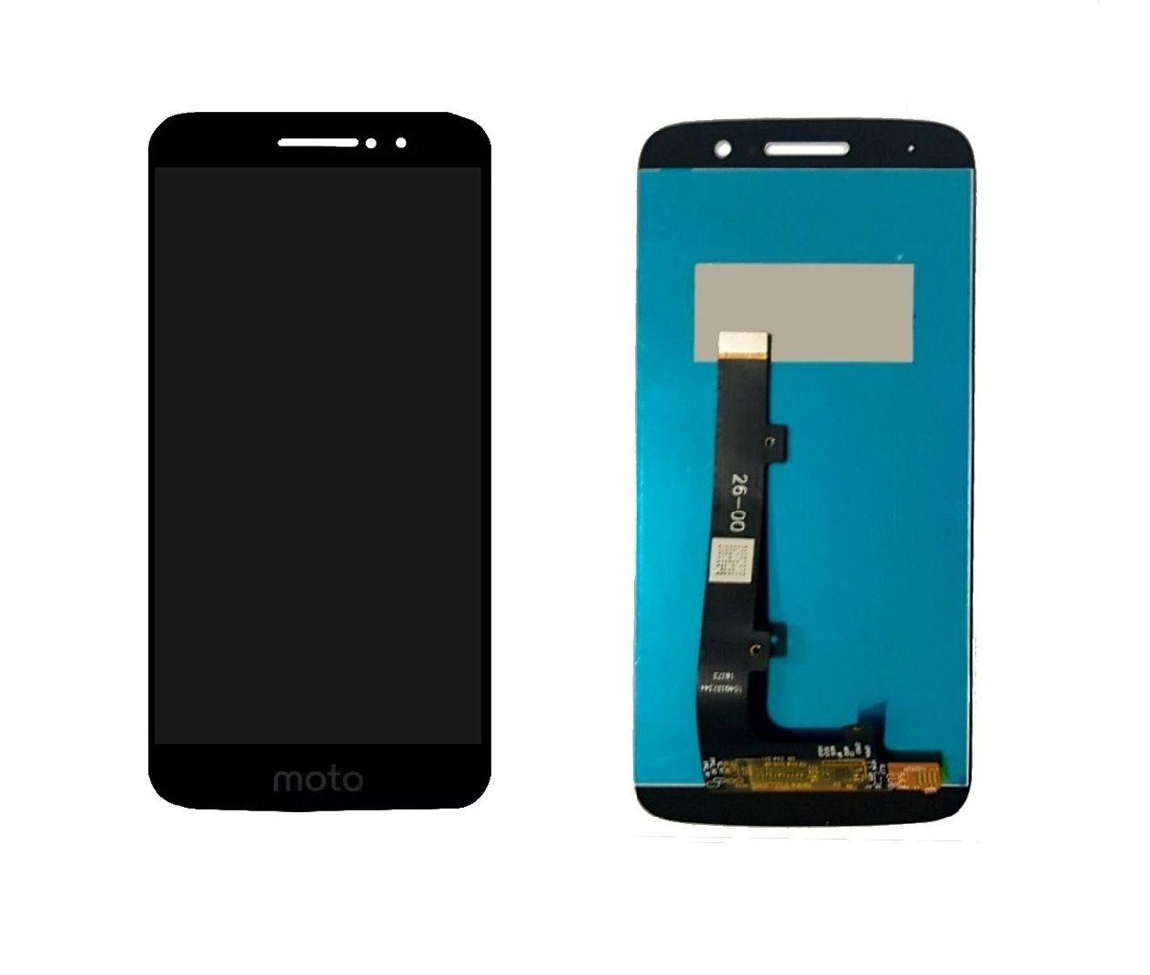 Frontal Lcd Touch Display Moto M Xt1662 Xt1663 Preto