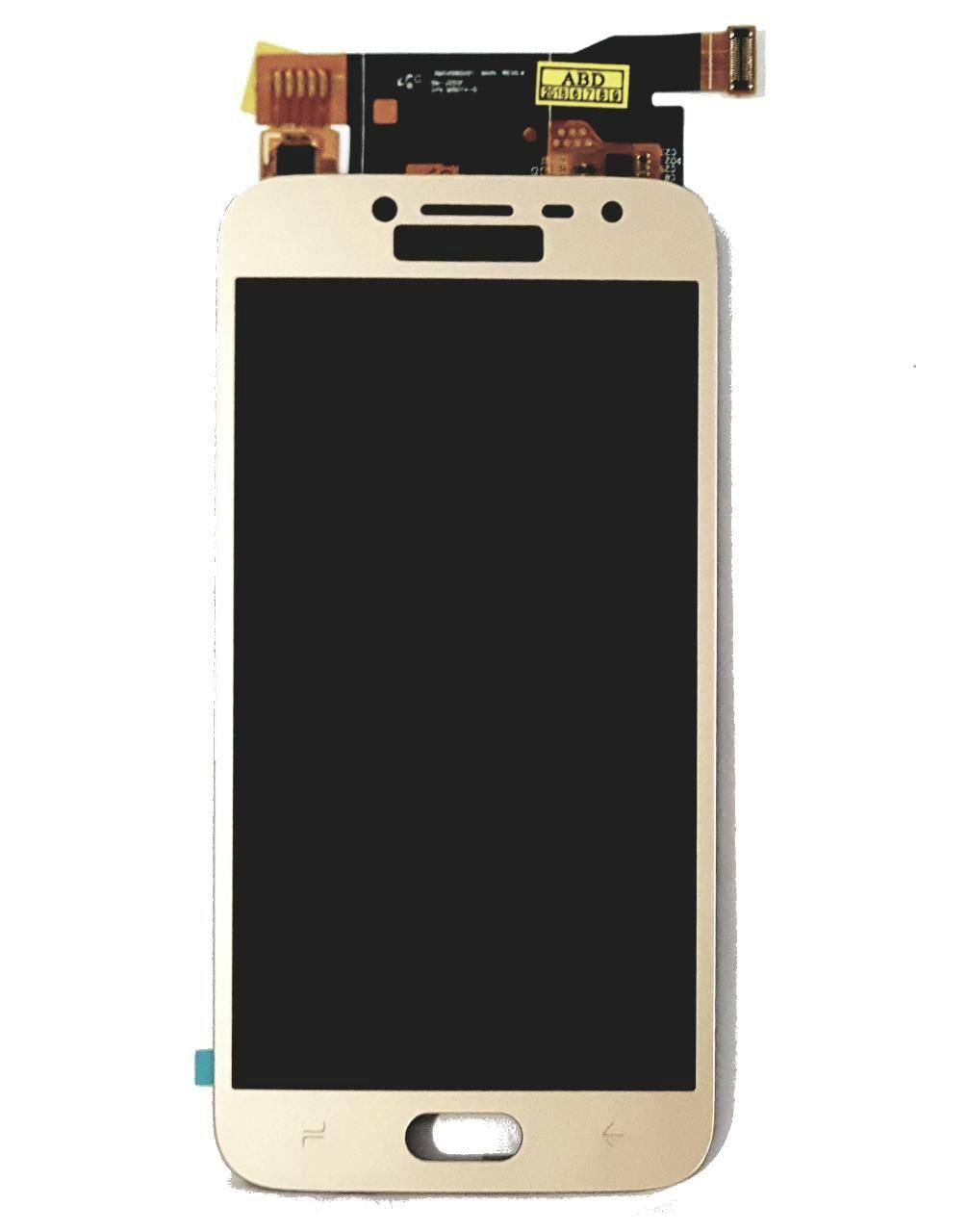 Frontal Tela  Display Samsung J2 Pro Sm-j250f/ds J250 Dourado Paralela com regulagem de brilho