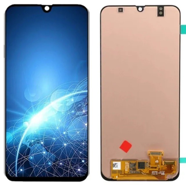 Frontal Tela Display Touch Lcd Samsung A30 A305 preto Oled Sem Aro