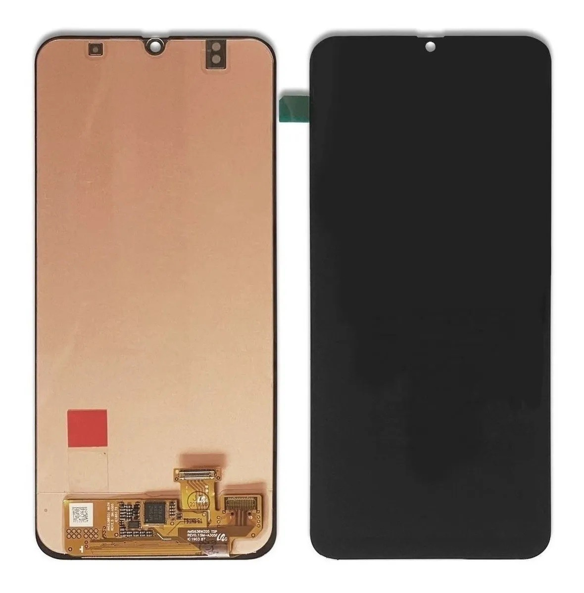 Frontal Tela Display Touch Lcd A50 A505 preto incell sem aro