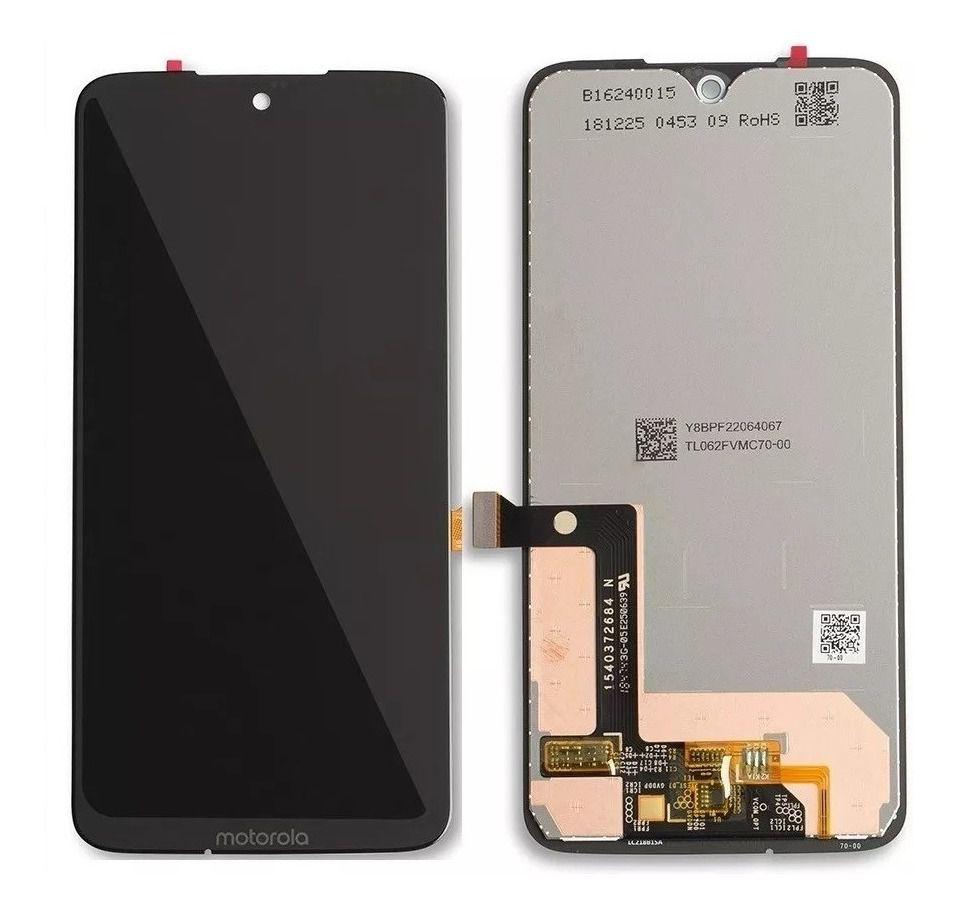 Frontal Display Motorola MotoG7 Plus / Moto G7 Plus Xt1965 xt1962 Preto