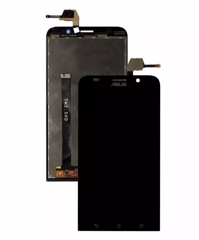 Frontal Tela Touch Display Lcd Asus Zenfone 2 Ze550ml TM5.5HD PRETO