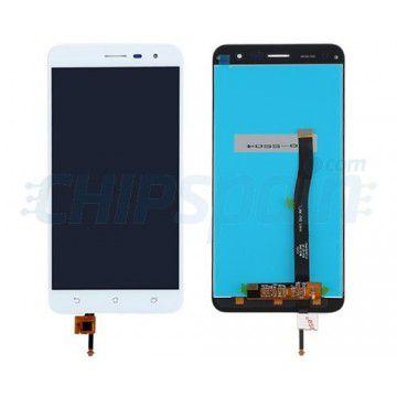 Frontal Tela Touch Display Lcd   Asus Zenfone 3 5.5 Ze552kl Branco Sem aro