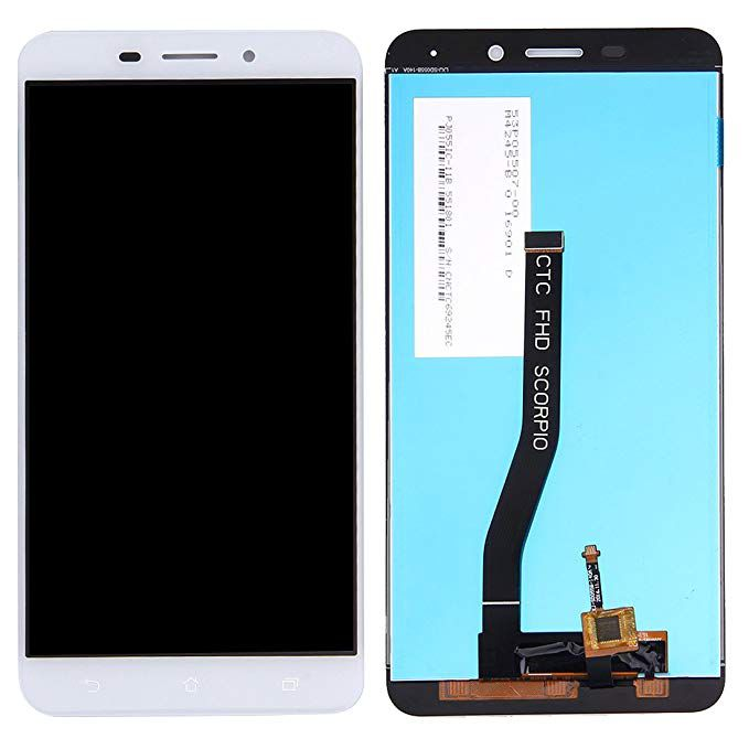 Frontal Tela Touch Display Lcd Asus Zenfone 3 Laser Zc551kl Branco