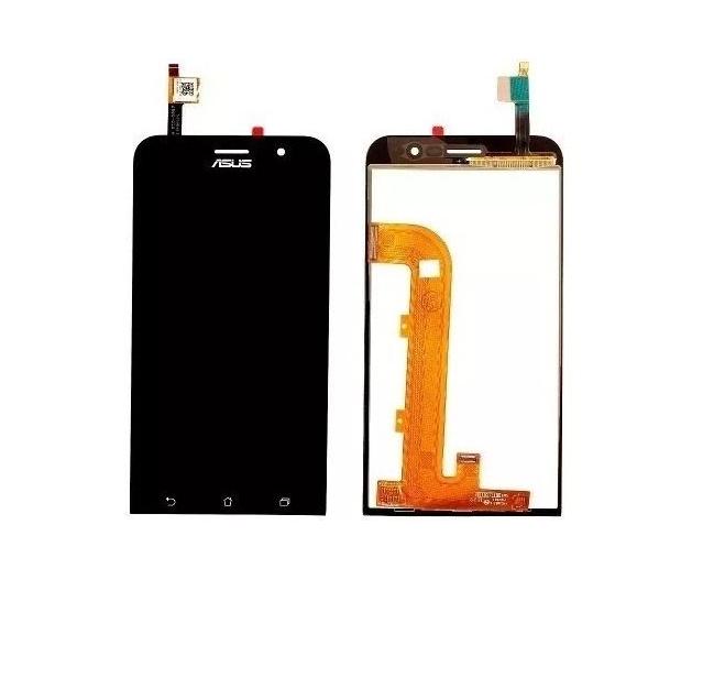 Frontal Tela Touch Display Lcd Asus Zenfone Go Zb500kg Preto Sem aro