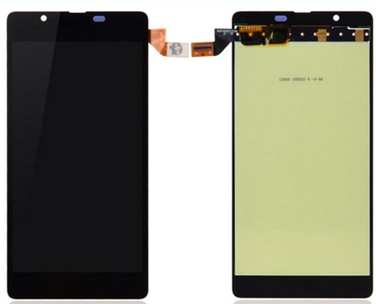 Frontal Tela Touch Display Lcd  Completa Nokia Lumia 540 N540 N 540 PRETO