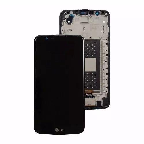 Frontal Tela Touch Display Lcd Lg K10 k430 Versão Li530hz1a Fpc V02 C/ tv sem C.I Preto