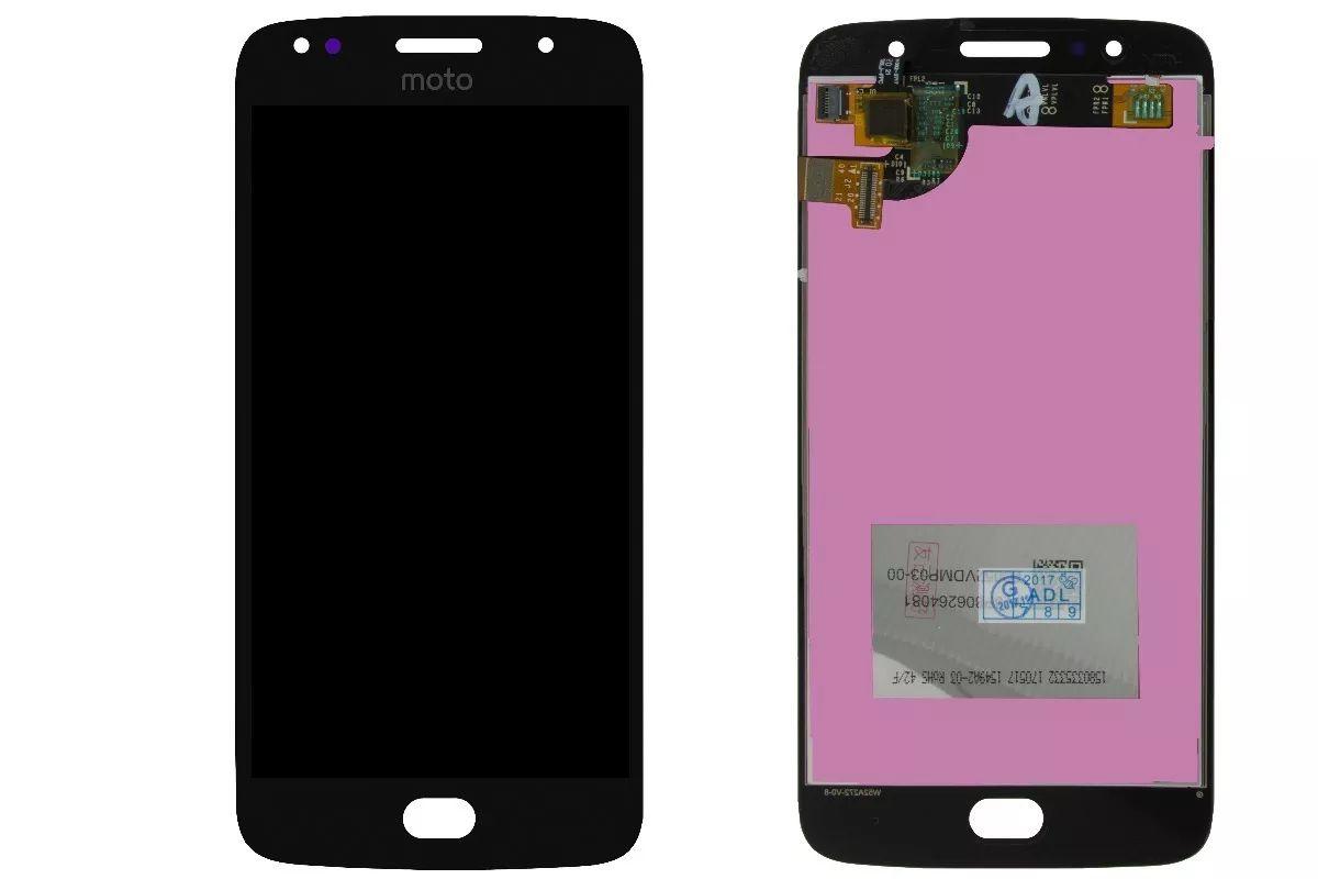 Frontal Tela Touch Display Lcd Moto G5s / MotoG5s Xt1793 Xt1794 Xt1792 Preto Sem aro