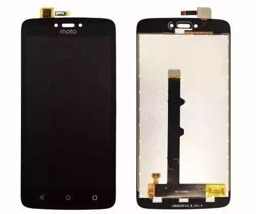 Frontal Tela Touch Display Lcd Motorola Moto C Xt1750 Xt1754 Xt1756  Sem Aro Preto