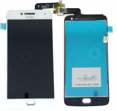Frontal Tela Touch Display Lcd Motorola Moto G5 Plus 5.2 Xt1683 Escrito Moto BRANCO