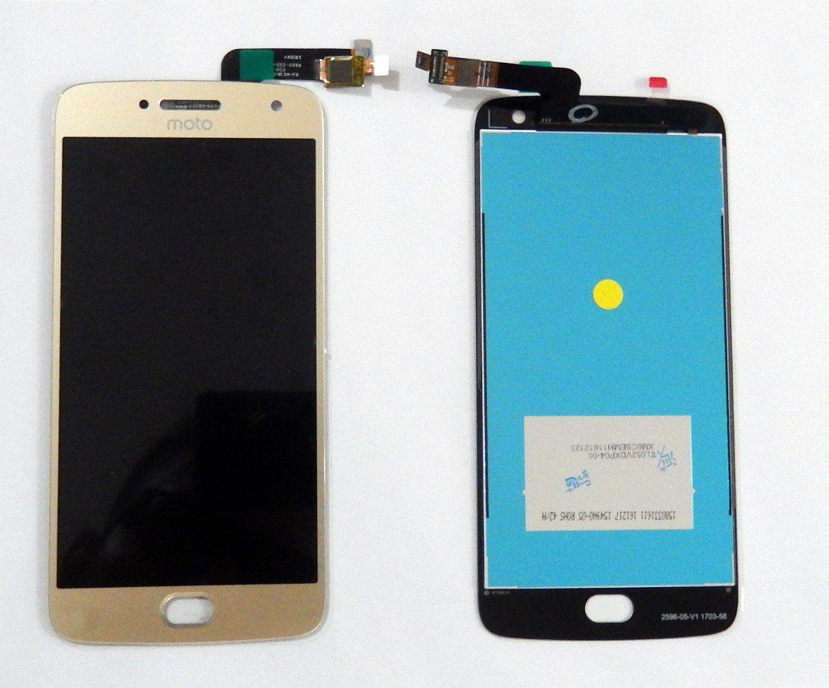 Frontal Tela Touch Display Lcd Motorola Moto G5 Plus / MotoG5 Plus 5.2 Xt1683 Dourado