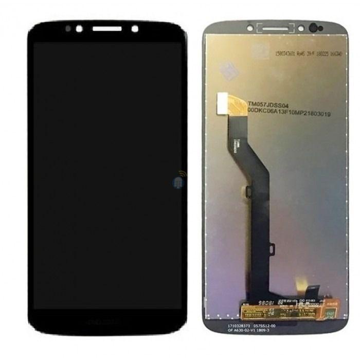 Frontal Tela Touch Display Lcd Moto G6 Play MotoG6 Play Xt1922 / Moto E5 MotoE5  Xt1944  Preto
