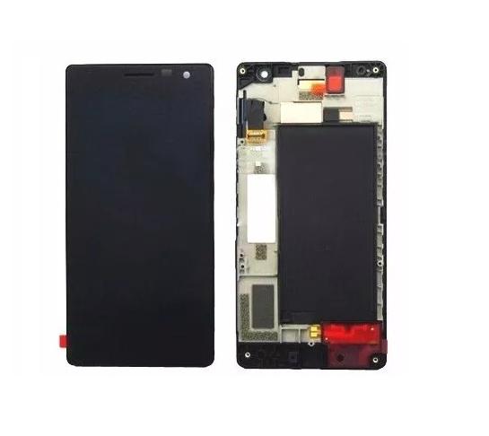 Frontal Tela Touch Display Lcd Nokia Lumia 730 N730 N735 735 c/ aro PRETO