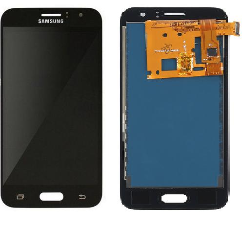 Frontal Tela Touch Display Lcd Samsung Galaxy J1 J120 2016 120 Preto