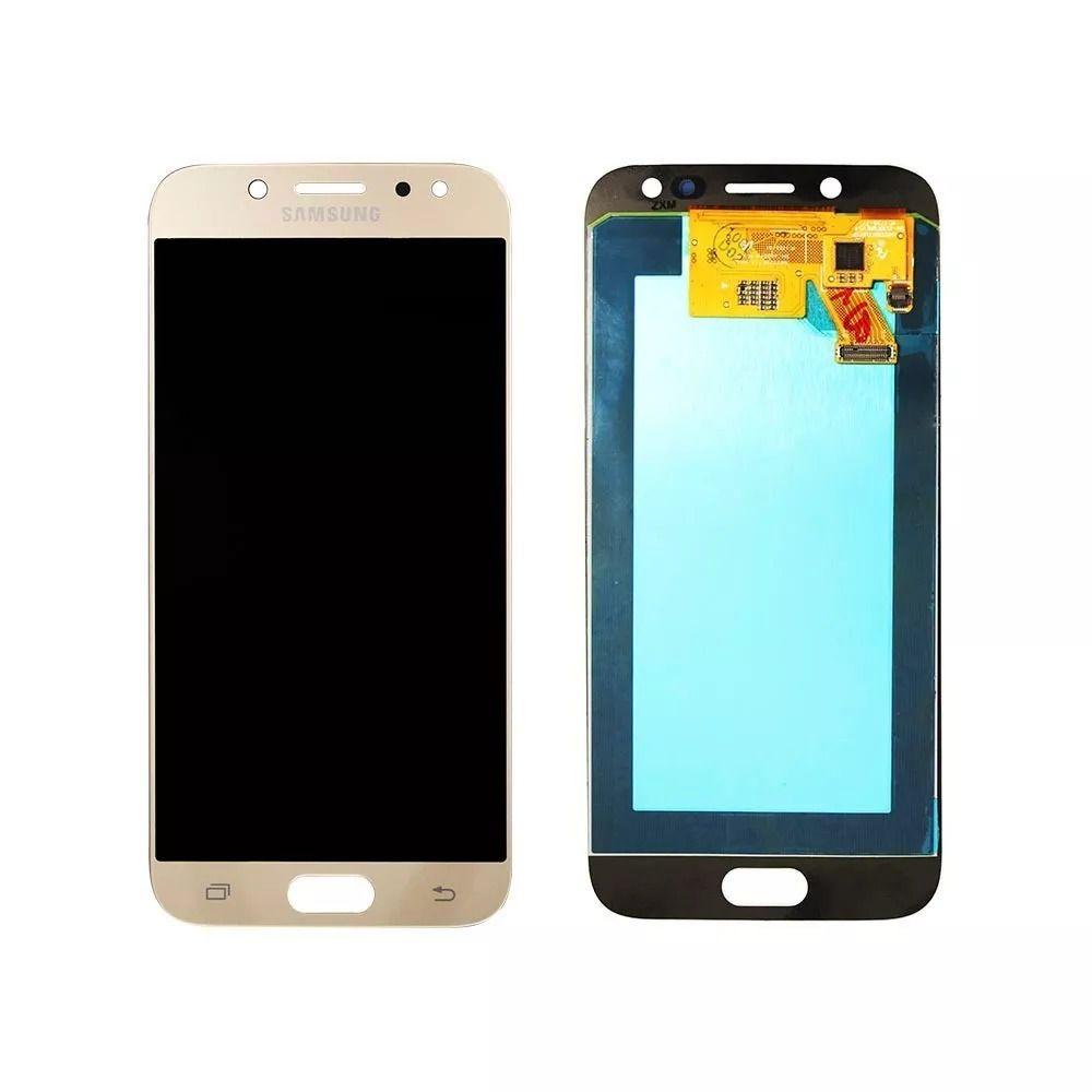 Frontal Tela Touch Display Lcd Samsung Galaxy J5 Pro J530 Oled Dourado
