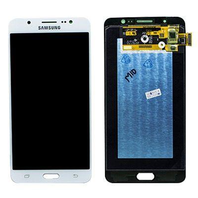 Frontal Tela Touch Display Lcd Samsung Galaxy J7 2016 J710 Sm-j710 Oled Branco