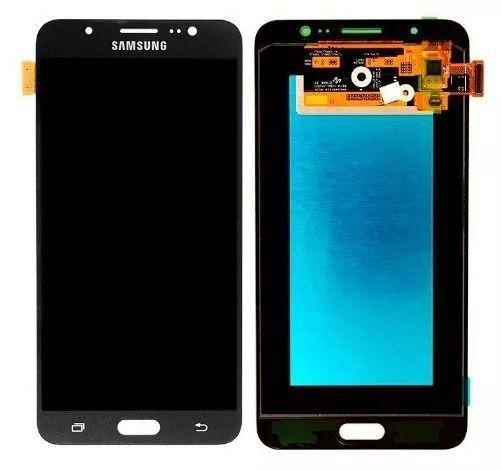 Frontal Tela Touch Display Lcd Samsung Galaxy J7 2016 J710 Sm-j710 Oled Preto
