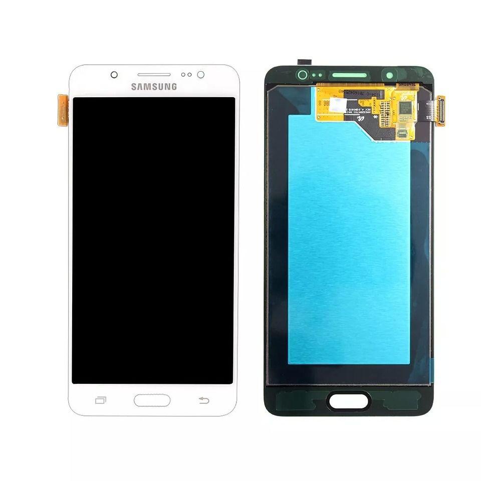 Frontal Tela Touch Display Lcd  Samsung J5 J510 Metal 2016 Oled BRANCO