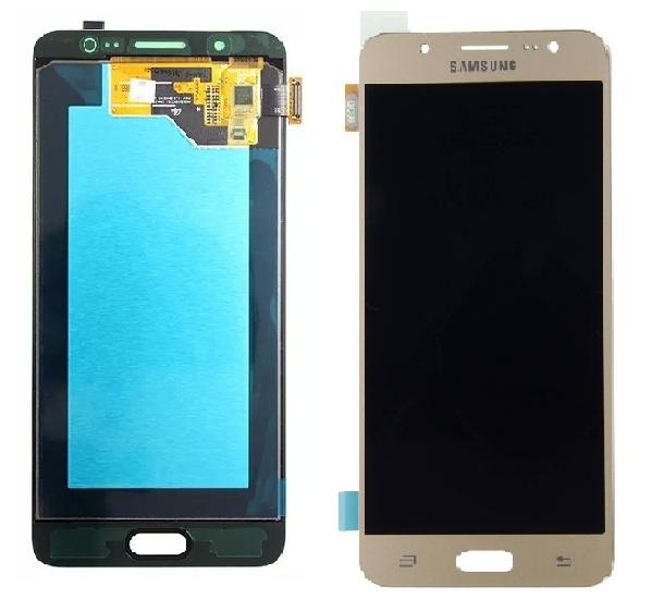 Frontal Tela Touch Display Lcd  Samsung J5 J510 Metal 2016 Oled Dourado