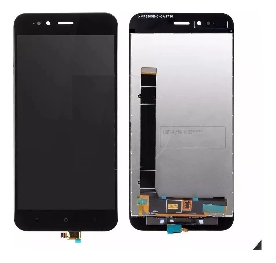 Frontal Tela Touch Display Lcd Xiaomi Mi A1 Mia1 Mi5x Sem aro Preto