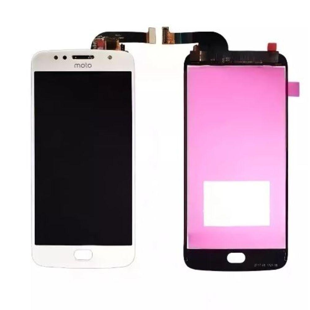 Frontal Tela Touch Display Moto G5s Xt1793 Xt1794 Xt1792 Prata