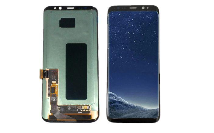 Frontal Tela Touch Display Samsung Galaxy S8 Plus S8 + G955f G955 Novo Sem aro