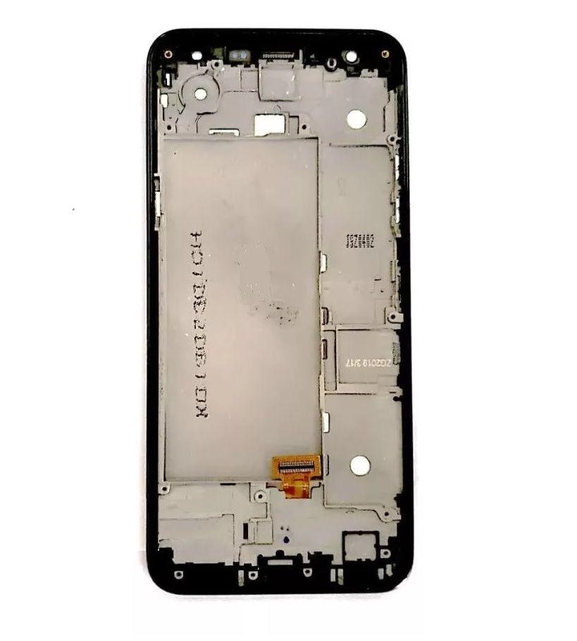 Módulo Frontal Tela Display LG K12 plus / K12+ Plus / X420bmw Com Aro Para Aparelhos de 2 chips