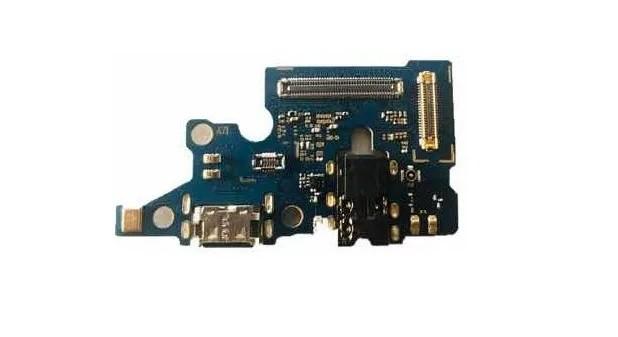 Placa Conector Carga Flex Microfone E P2 Samsung A71 A715