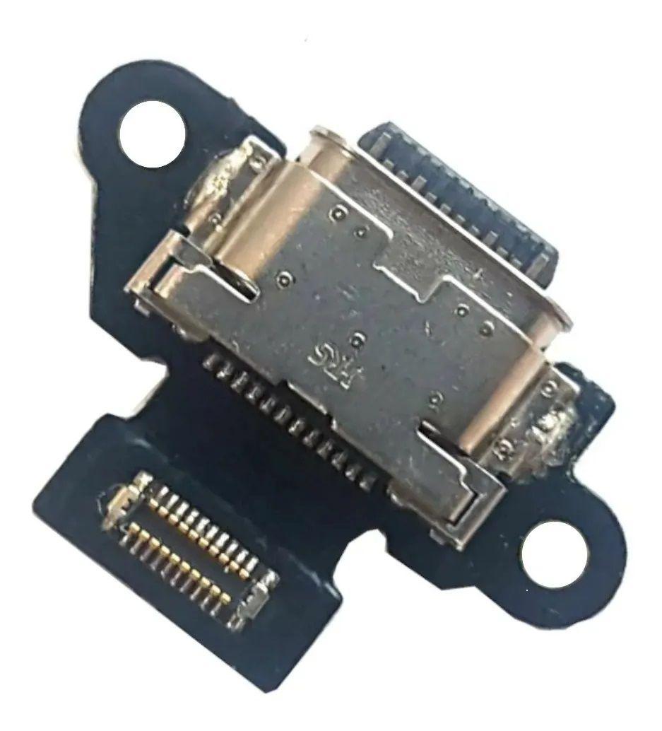 Placa Conector Carga Flex Placa Completo Usb Motorola Moto X4 Xt1900