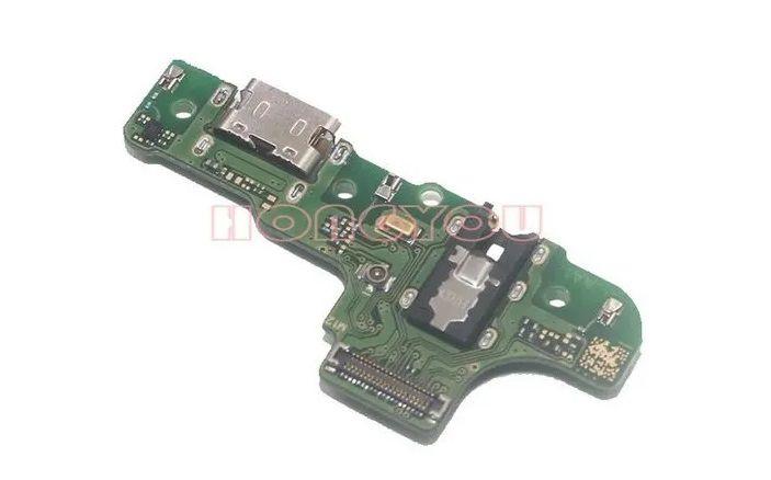 Placa Conector De Carga Completo Placa Samsung Galaxy A20s  A207 Com Microfone Versão M12
