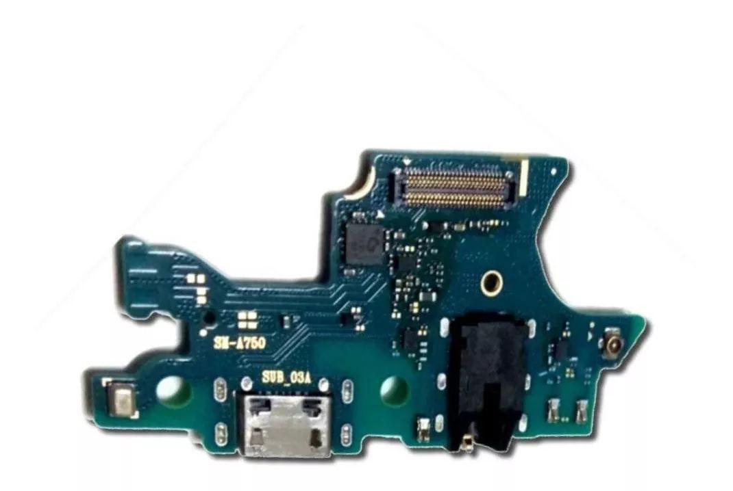 Placa Conector de Carga e Microfone A7 2018 A750