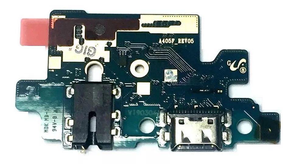 Placa Conector De Carga Micro Galaxy A40 A405