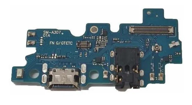 Placa Conector De Carga Usb Microfone Galaxy A30s A307