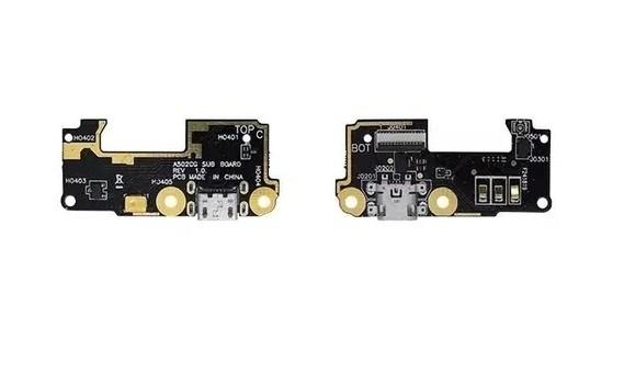 Placa Sub Compelat Flex Conector De Carga Asus Zenfone 5 Lite A501cg A502cg