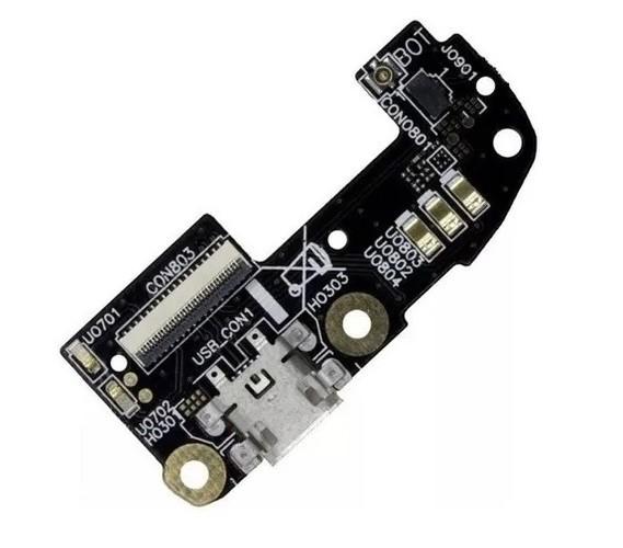 Placa Sub Completa Conector Carga Placa Compatível Zenfone 2 Ze551 Ze550ml