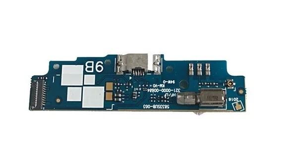 Placa Sub Conector Completo Placa Carga Microfone  Zenfone Go Zb452kg