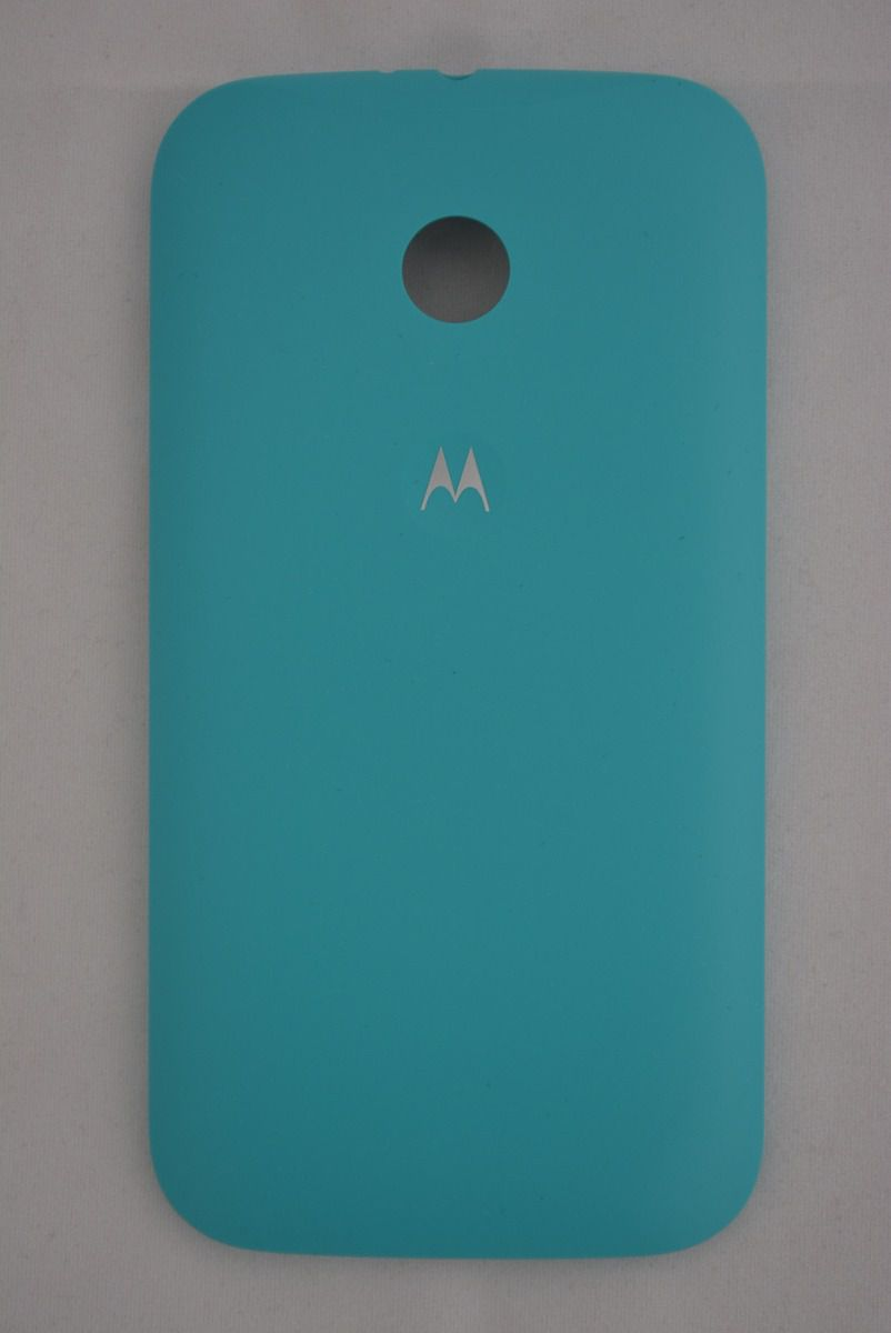 Tampa Capinha Traseira Motorola Moto E1 Xt1021 Xt1022 Xt1025 Azul