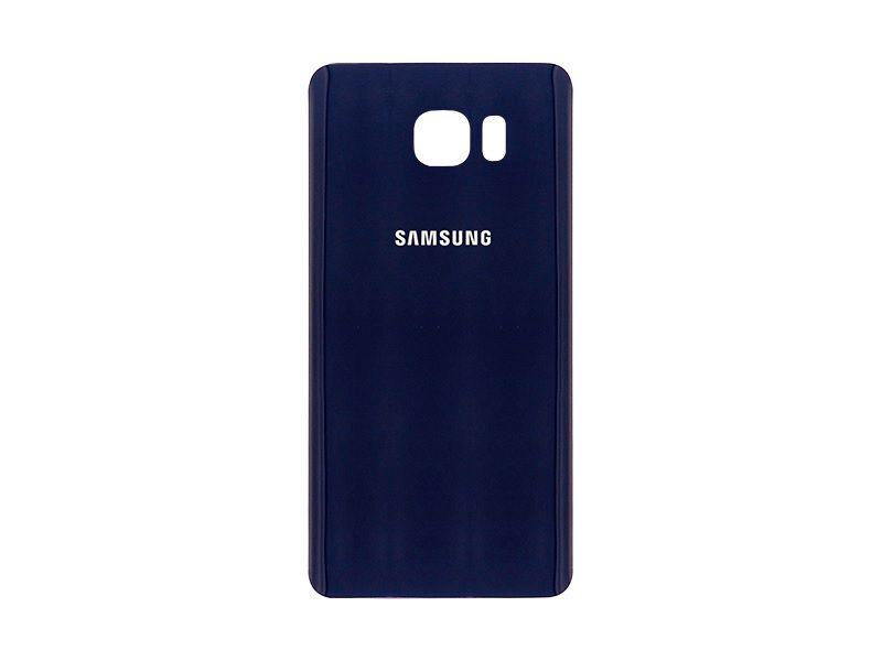 Tampa Traseira Acrílico Galaxy Note 5 N920 N 920 Preto Azul