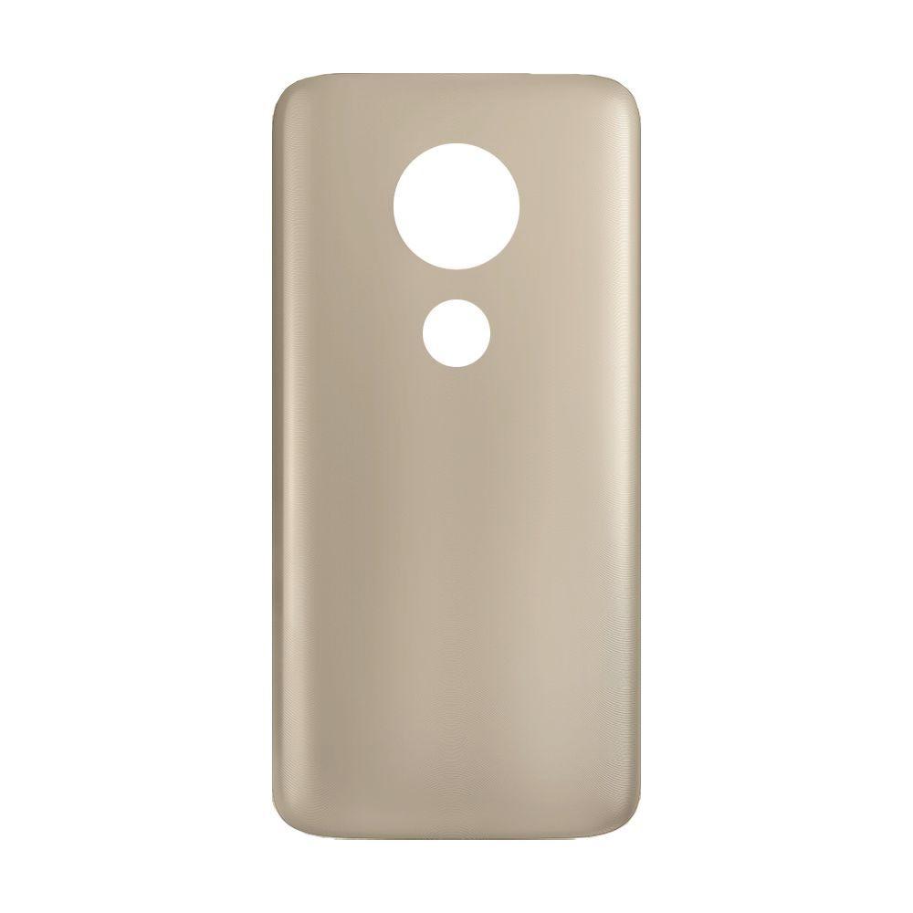 Tampa Traseira Acrílico Motorola Moto G7 Play Xt1952 Dourado