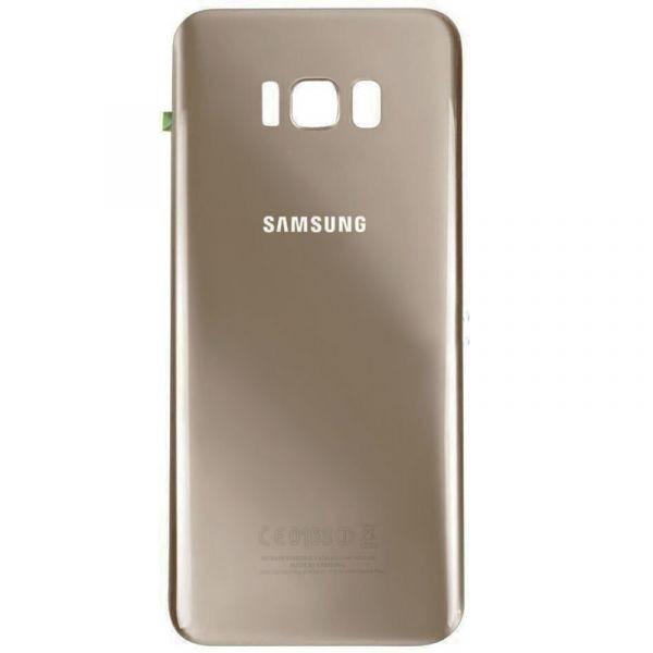 Tampa Traseira Galaxy S8 + G955f S8 Plus G955fd G955 Dourado