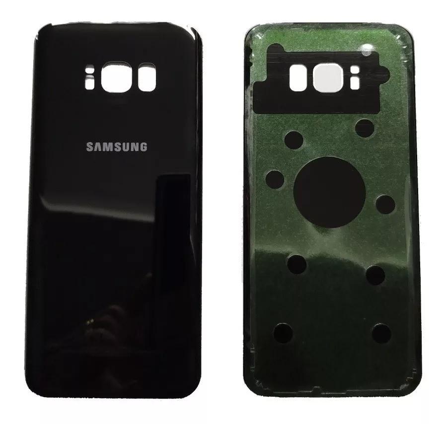 Tampa Traseira Galaxy S8 + G955f S8 Plus G955fd G955 Preto