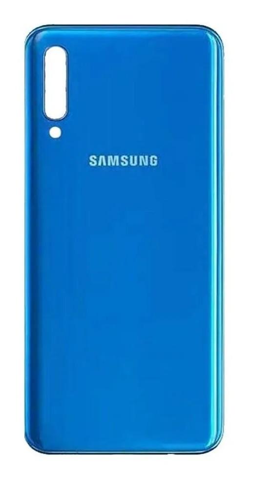 Tampa Traseira Para Celular Galaxy A50 A505 Sm-a505 a505g Azul Brilhante