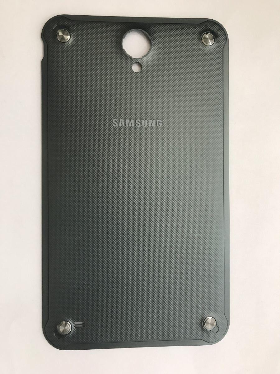 Tampa Traseira Tablet Samsung Sm T365 Active Verde militar
