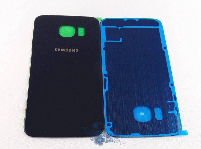 Tampa Traseira Vidro Espelhado Samsung Galaxy S6 Edge G925 Azul